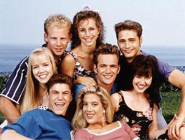 The original cast of 90210